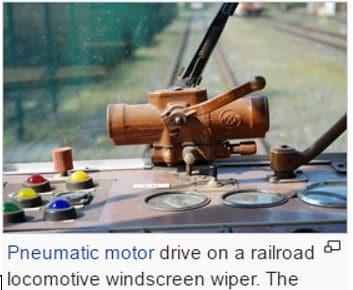 PneumaticWindscreenWiperDriver